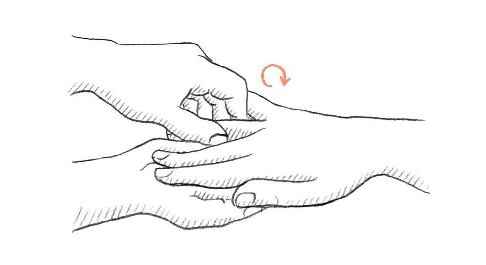 Jak Wykonać Masaż Dłoni Przy Użyciu Roślinnych Olejków Weleda Mag