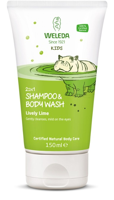Kids Shower & Shampoo Lime