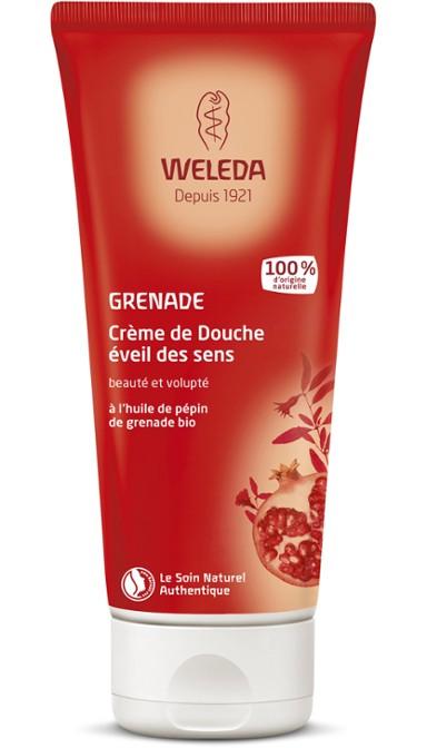 2c408146e5f Crème de Douche éveil des sens à la Grenade - Weleda