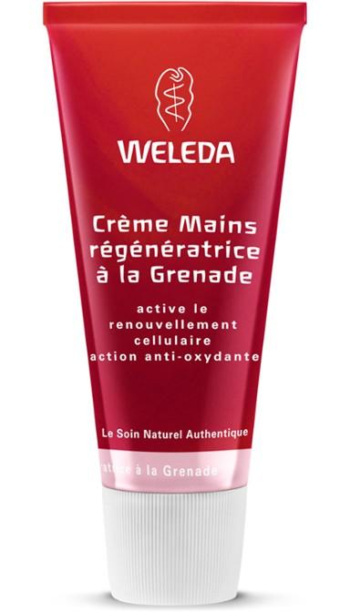 01a377e71d7c Crème Mains régénératrice à la Grenade - Weleda