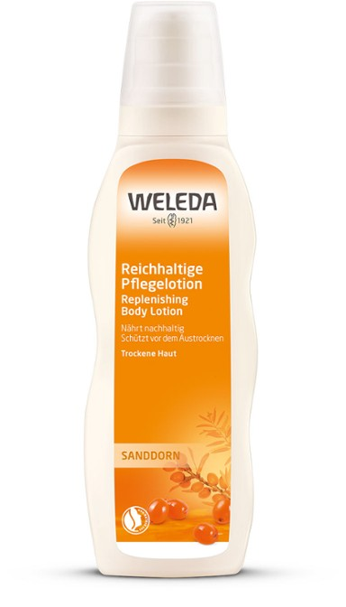 Sanddorn Pflegelotion