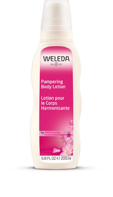 weleda wild rose body lotion