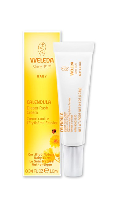 Diaper Rash Cream with Calendula - Travel