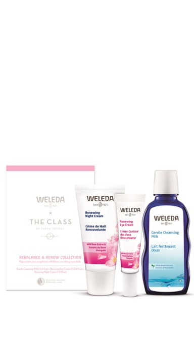 Weleda x The Class: Rebalance & Renew Collection